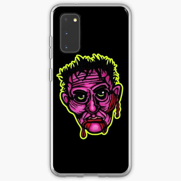 Pink Zombie - Die Cut Version Samsung Galaxy Soft Case