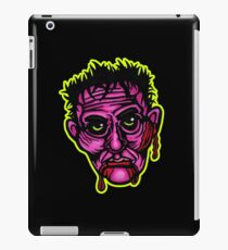 Pink Zombie - Die Cut Version iPad Case/Skin