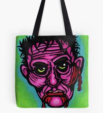 Pink Zombie Tote Bag