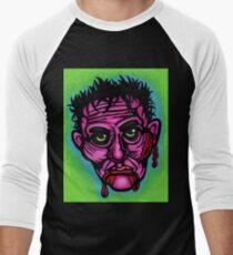 Pink Zombie Baseball ¾ Sleeve T-Shirt