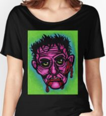 Pink Zombie Relaxed Fit T-Shirt