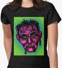 Pink Zombie Fitted T-Shirt