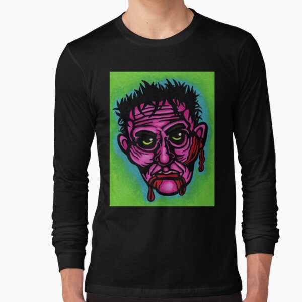 Pink Zombie Long Sleeve T-Shirt