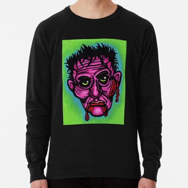 Pink Zombie Lightweight Sweatshirt