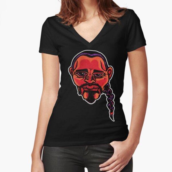 Gustavo - Die Cut Version Fitted V-Neck T-Shirt