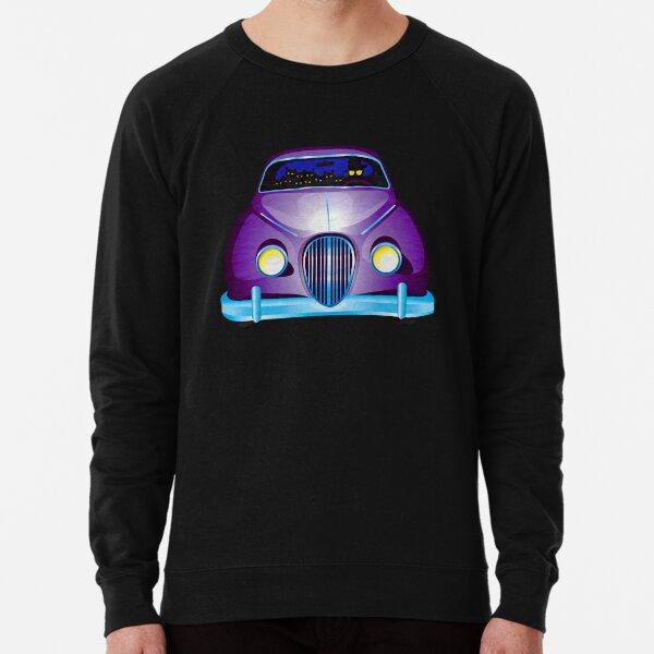 Carpool Cats Lightweight Sweatshirt