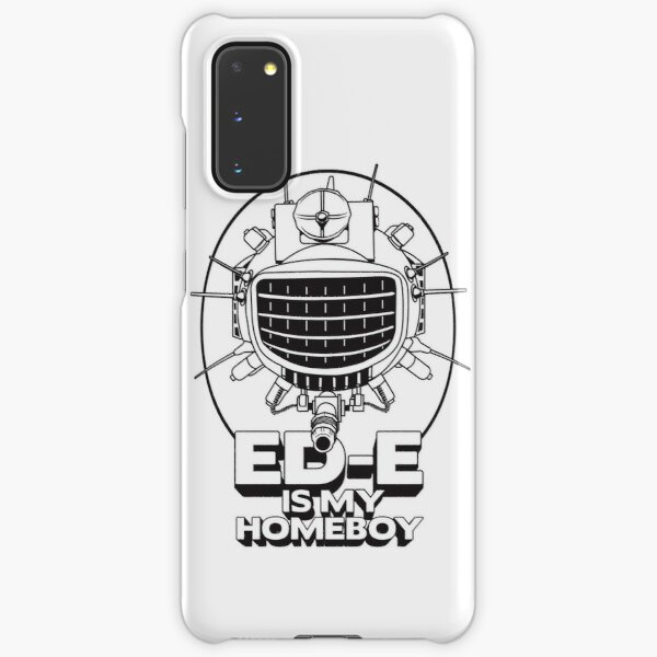 ED-E is My Homeboy on White Samsung Galaxy Snap Case