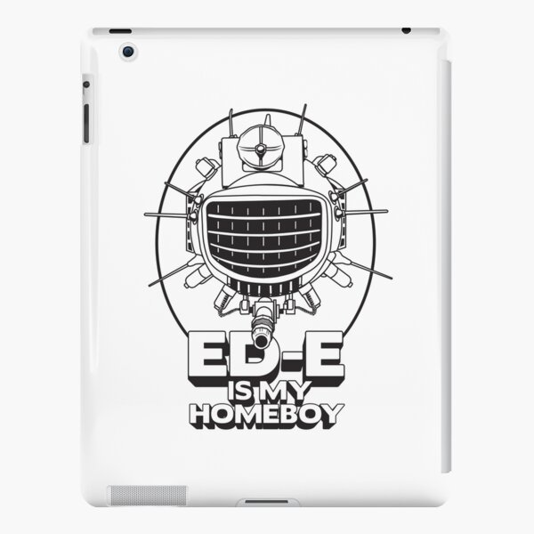 ED-E is My Homeboy on White iPad Snap Case