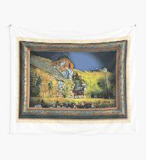 nuit éclairée à St-Vincent Wall Tapestry