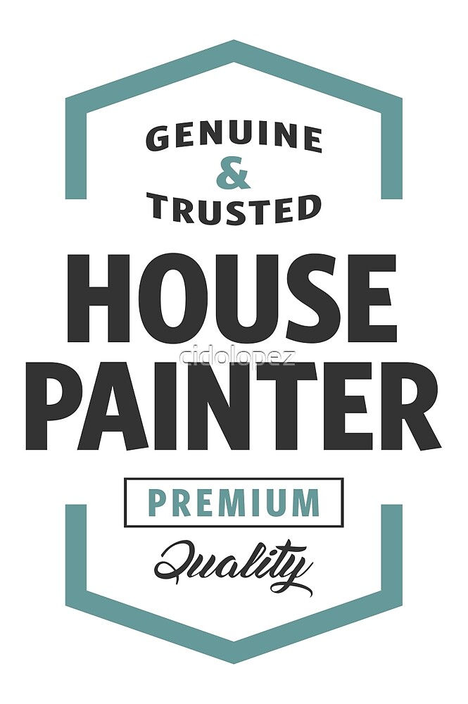 House Painter Logo Gifts by cidolopez