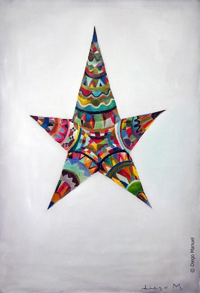 Latin American star. by Diego Manuel Rodriguez