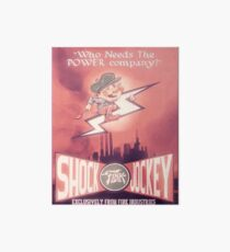 BioShock Infinite – Shock Jockey Poster Art Board