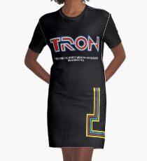 Tron 1982 - minimalista, alternativo, ciencia ficcion,  Vestido camiseta