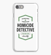 Homicide Detective Logo Gifts iPhone Case/Skin