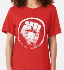 Poing de révolution T-shirt T-shirt ajusté