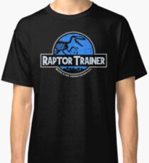 Jurassic World Raptor Trainer Classic T-Shirt