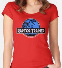 Jurassic World Raptor Trainer Women's Fitted Scoop T-Shirt