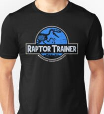 Jurassic World Raptor Trainer Unisex T-Shirt