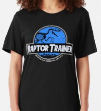 Jurassic World Raptor Trainer Slim Fit T-Shirt