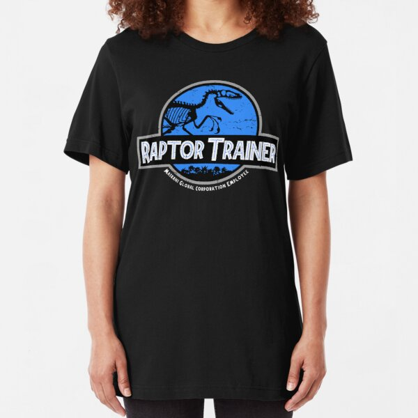 Jurassic World Raptor Trainer Slim Fit T-Shirt