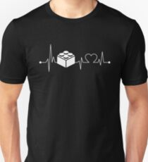 Heartbeat Hobby Lego Building Unisex T-Shirt