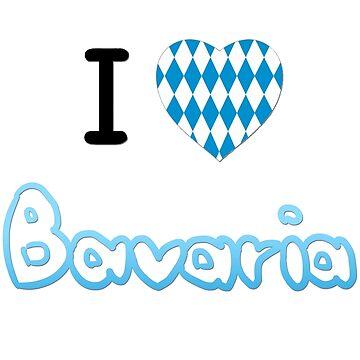 I love Bavaria by TitaniumCrab