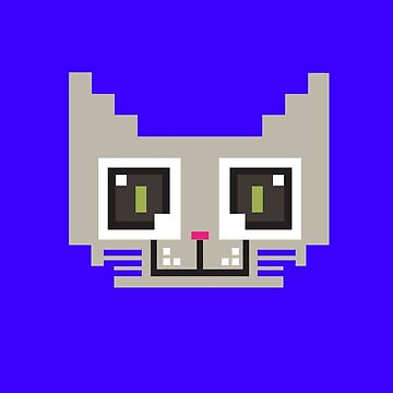 Pixel Cat by MFSdesigns