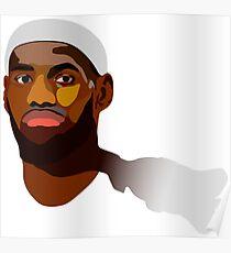 LeBron James - Winner take nothing Poster