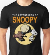 Tin Tin Snoopy Unisex T-Shirt