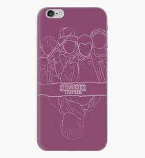Vinilo o funda para iPhone Will en Upside Down