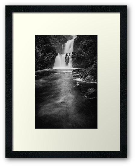 Waterfall at Rha on the Isle of Skye by Karl Thompson