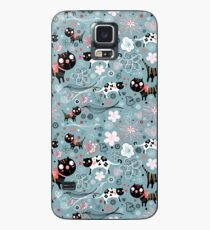 Funny cats in love  Case/Skin for Samsung Galaxy
