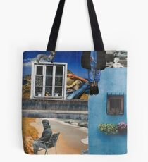 Mandarin Encounters Tote Bag