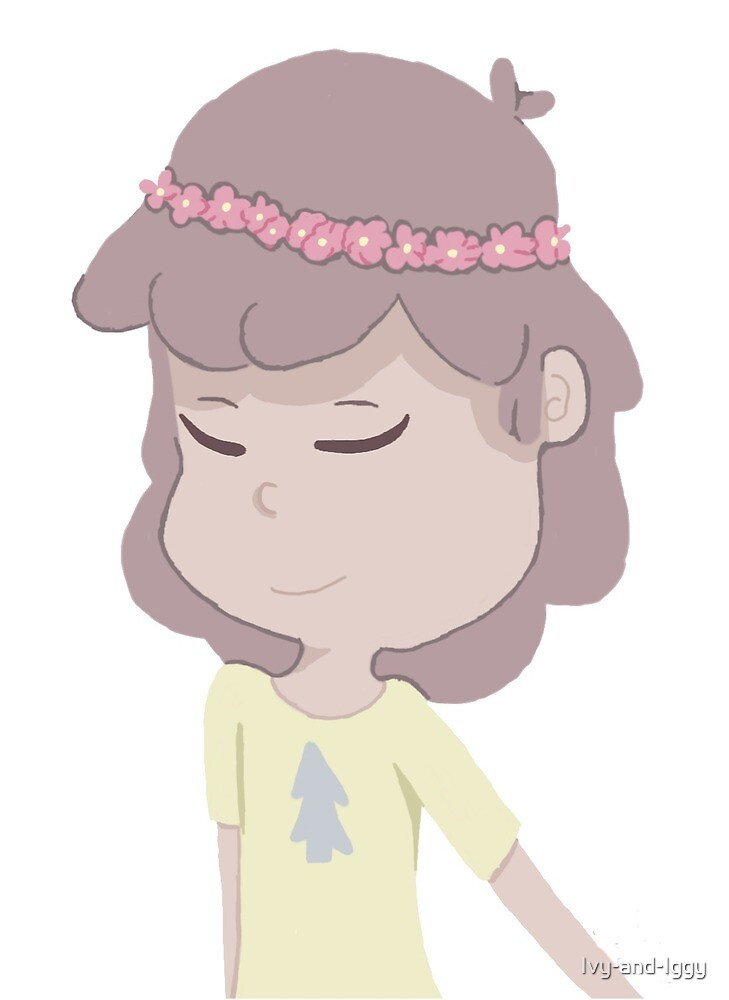 Dipper Pines with a Flower Crown by Ivy-and-Iggy