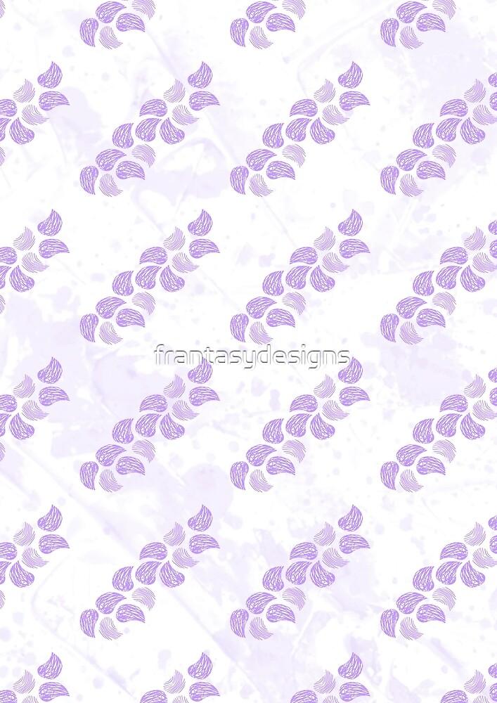 Paisley Scribble Purple by frantasydesigns