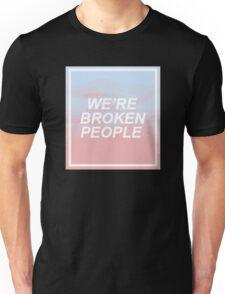 TØP screen lyrics  Unisex T-Shirt