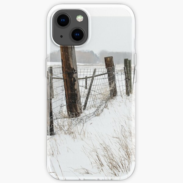 Winter On The Farm iPhone Soft Case