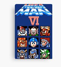 Mega Man 6 (NES) Canvas Print