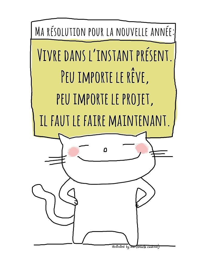 Ma résolution pour la prochaine année / Ohh la la French Doodle by eyecreate