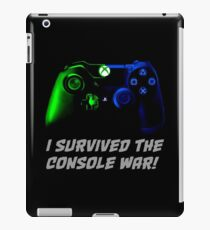I survived the console war! iPad Case/Skin