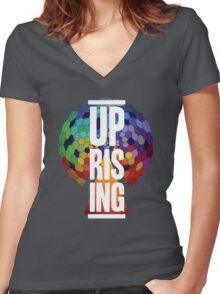 UPRISING Women's Fitted V-Neck T-Shirt