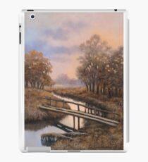 Landscape with bridge iPad Case/Skin