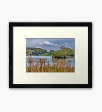 Great Lake Castle Howard Framed Print