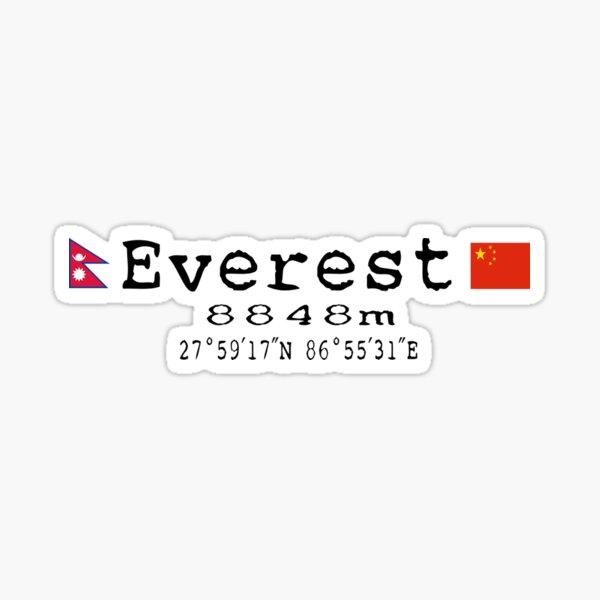 Everest v.1 Sticker
