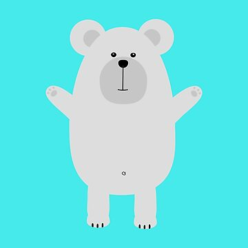 Happy Polar Bear by ilovecotton