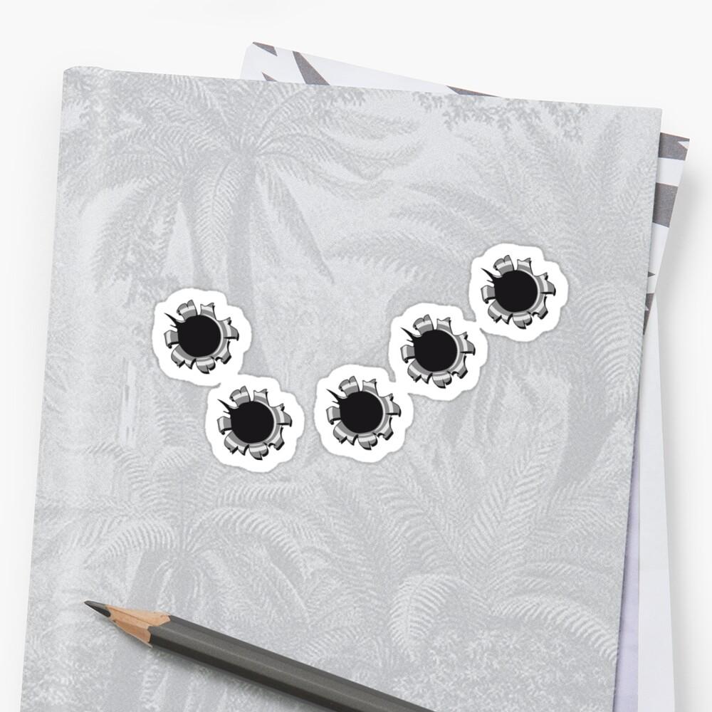 Holes einschüsse weapon by Motiv-Lady