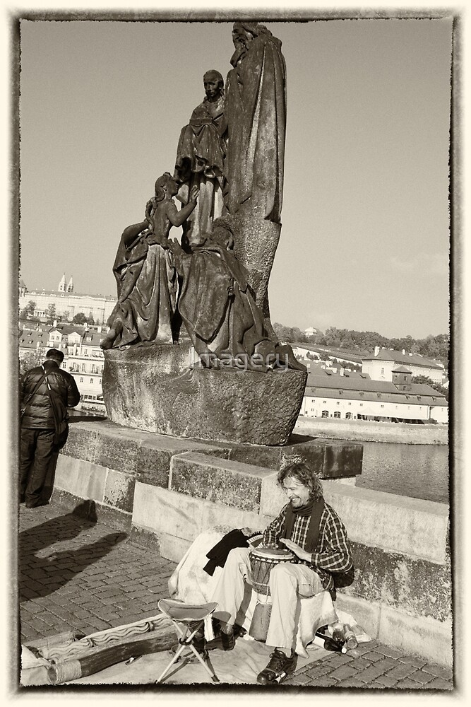 People of Prague #4 by Imagery