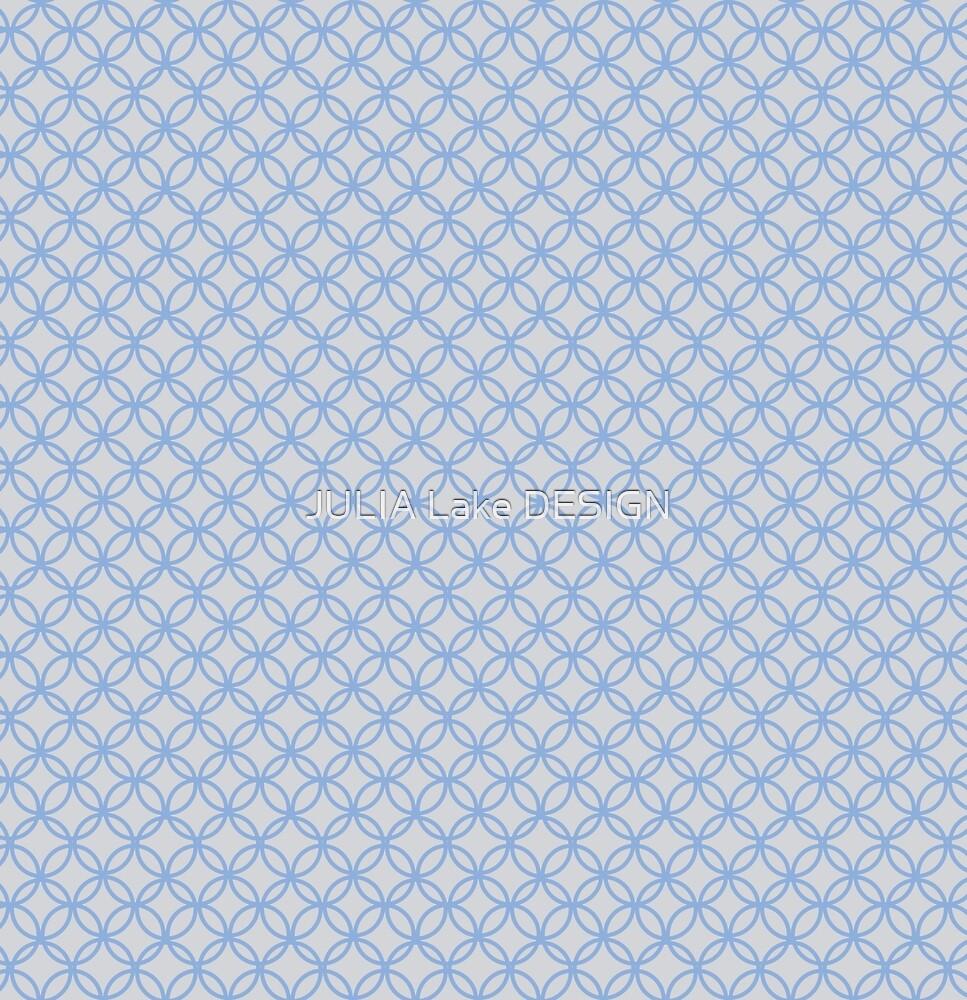Circle Pattern Repeating pattern by JULIA Lake DESIGN