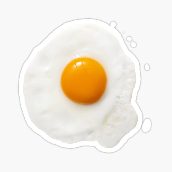 Blue egg Sticker