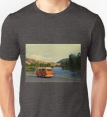 River View Bay Window Volkswagen VW Westfalia Unisex T-Shirt